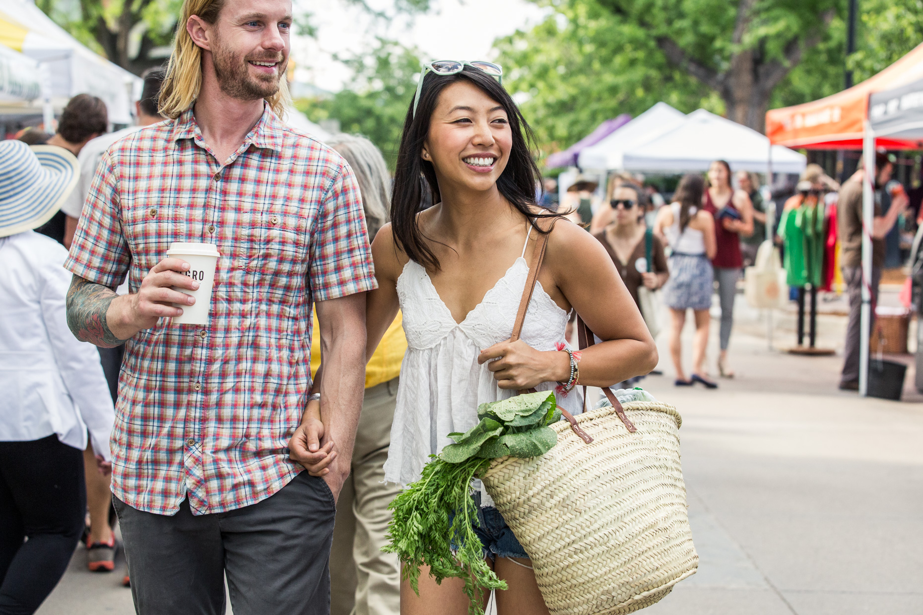 Boulder Farmers Market in Boulder, Colorado