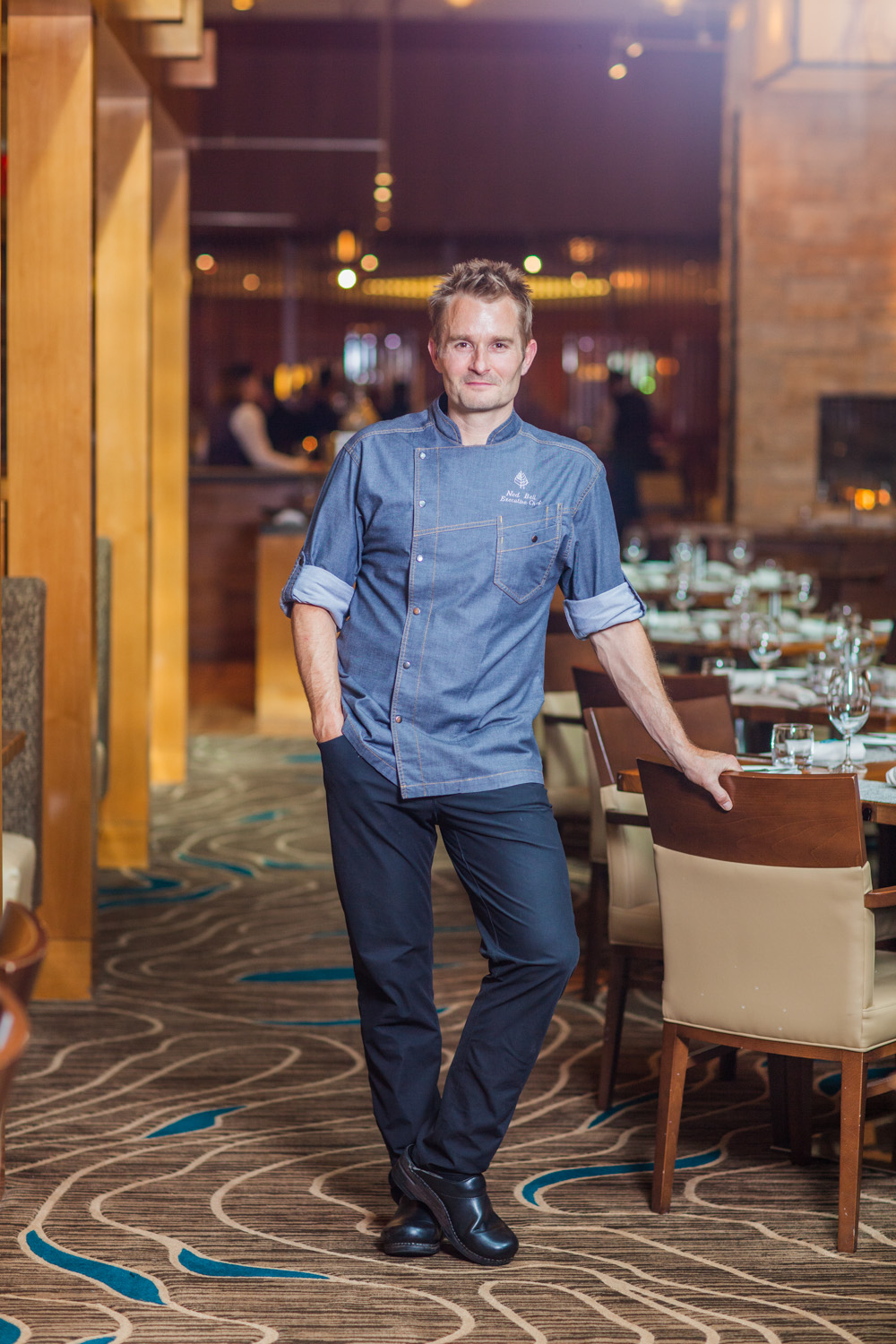 Four Seasons Chef, Ned Bell, at Yew.